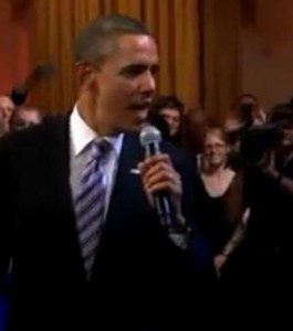 Barack Obama chante le blues à la Maison Blanche