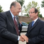 FRANCE-POLITICS-CHIRAC-HOLLANDE